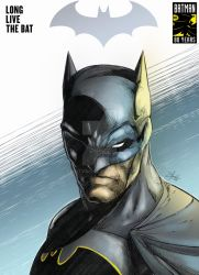 Long Live The Bat in color by SaintYak