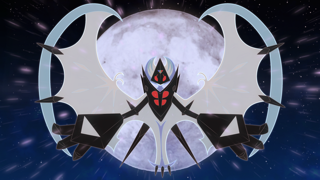 Ultra lunala wallpaper by Elsdrake