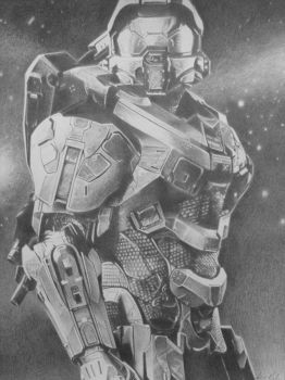 Halo - Master Chief - Finished by RichWalker