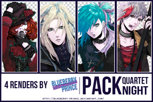Pack Renders by Blueberry-Prince by Blueberry-Prince