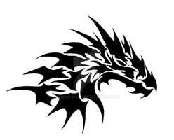 Dragon Logo 2 by shiva-dono