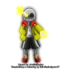 Collab: Bad time with Thunder by Evil-Black-Sparx-77