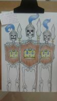 Guards Clash Royale - Fanart by WendyBrow