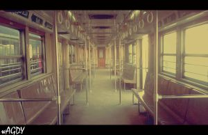 Metro Alone :D by MohamedWagdy
