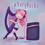 #HarpRocks by Elvann