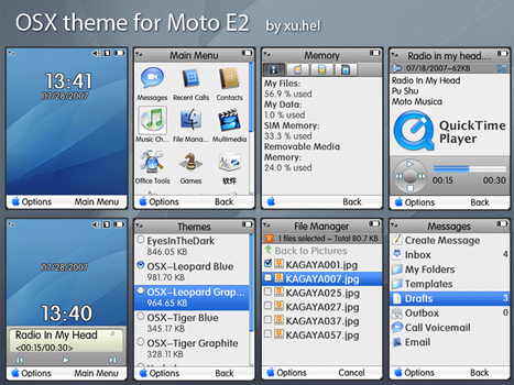 OSX theme for Moto E2 by xuhel