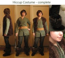 Hiccup Costume Complete by Spwinkles