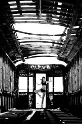 Dancer on a Train by HowNowVihao