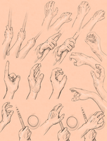 C: Hand Sketches by Decora-Chan