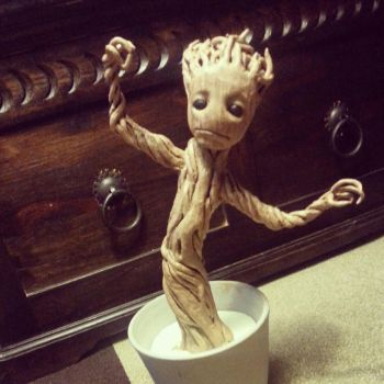 Baby Groot - Nearly finished by IronMask90