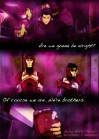 LoK: We're Brothers- Mako and Bolin by kels070105