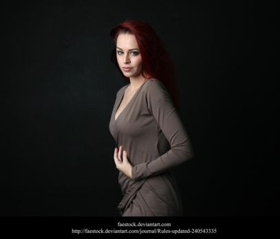 Studio portrait 3 by faestock