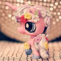 Commission: Unicorn Princess LPS custom by pia-chu