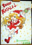 A Christmas present for Rita - Chirstmas Card 2016 by DanyDanja