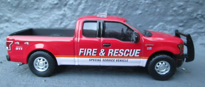 Greenlight F-150 Fire and Rescue by ReptileMan27