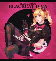 Blackcat Dva Doodle by MonoriRogue