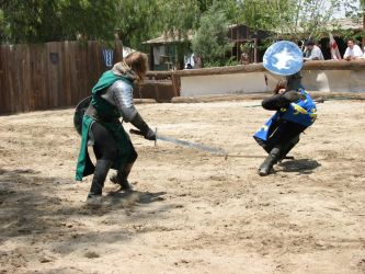 More Knight Joust Stock 016 by tursiart