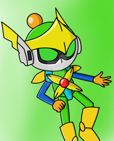 Orion bomberman by MonserratCrazy5