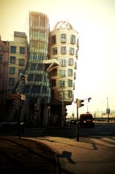 Prague - Dancing House by JackieTran