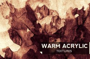 Warm Acrylic Textures by wegraphics