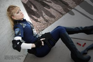 Leon S. Kennedy Cosplay: Gender Bend by CLeigh-Cosplay