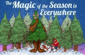 Magic of the Season by mannycartoon