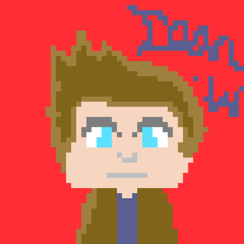 Dean Winchester Pixel Art :D by themaintheif