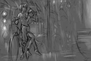 A white rose in Hoi An (WIP) by dishwasher1910