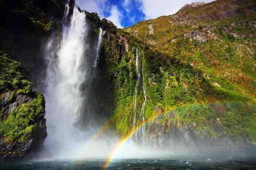 Rainbow Fall by CainPascoe