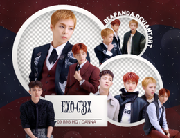 Pack Png 587 // EXO-CBX by BEAPANDA