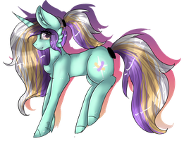 (AT) Sunset Sparkle by Luxyna-Moon