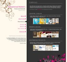 My Personal Website HTMLver3.0 by amrdesign