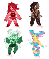 Collab Gem adopts: Opened! by sariasong64