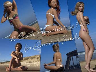25 Beach Photoshooting Poses by hemi-426
