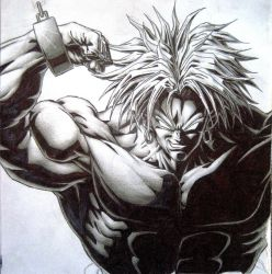 Chained Broly by TicoDrawing