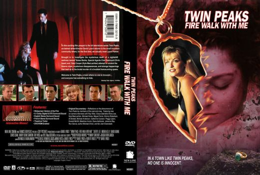 Twin Peaks: Fire Walk With Me custom cover art by jaredlyon