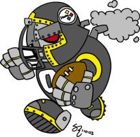 Pittsburgh Steeler by shane613