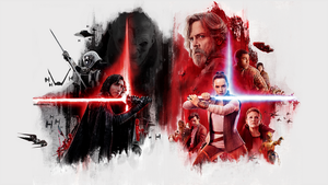 Star Wars:The Last Jedi | DarK - Light wallpaper by mintmovi3