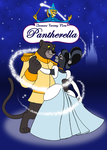 Pantherella Poster 1 by RetroUniverseArt