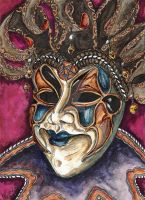 Venetian Mask by UncleBob47