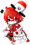 Fukase chibi by Lolly-sweet