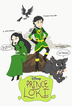 Journey into Mystery Disney edition! by monkette