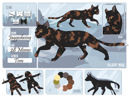 The Starless Fjords  Jaggedwing  SkyClan Warrior by EmeraldTheWoof
