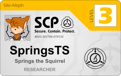 Squirrel. Contain. Protect. by SpringsTS