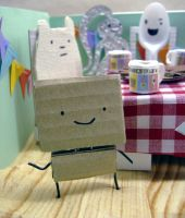 Tea-party diorama 2 by philippajudith