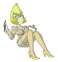 Yellow Pearl (Professional Outfit) by MrChaseComix