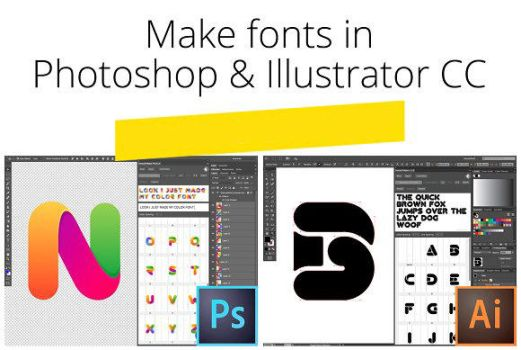 Fontself Maker Bundle for PS and AI by Roundicons