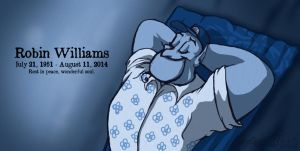 Robin Williams by Falcolf