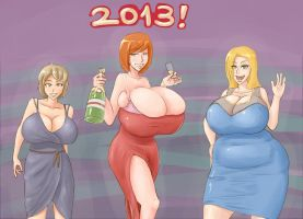 Happy new year 2013! by RasBurton