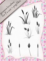 Grasses Brushes by roula33